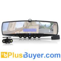 Buy cheap Car Wireless Rearview Mirror and Camera (MP3, FM, Bluetooth) from wholesalers