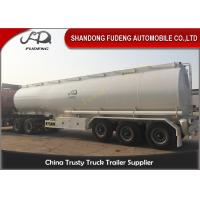 BPW 12 ton axle fuel tanker semi truck trailer air suspension