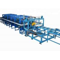 Buy cheap 0.3-0.8 Mm Galvanized Steel PU Sandwich Panel Production Line Fully Automatic product
