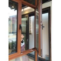 Buy cheap Inward Swing Opening Casement Window With Tempered Glass / Aluminum Clad Casement Windows from wholesalers