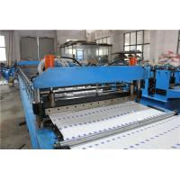 Buy cheap PPGI Double Layer Metal Roof Panel Roll Forming Machine 76 mm Shaft Diameter from wholesalers