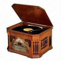 Buy cheap Audio Hi-Fi Nostalgic/Antique Music Center Record Player, Plays 33/45/78rpm Records, CD Player from wholesalers
