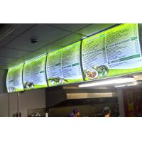 Outdoor / indoor large format Backlit Poster Printing / backlit film printing