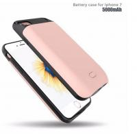 Buy cheap 2017 External Backup Battery Charger Case for iPhone 7 Slim battery Power Bank from wholesalers