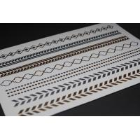 Buy cheap Silver metallic foil tattoo from wholesalers