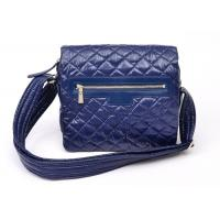 Buy cheap Light Weight Navy Blue Small Nylon Crossbody Bag with Leather Trimming from wholesalers