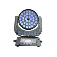 Led Moving Head Professional Show Lighting / Zoom Moving Head Light For Wedding