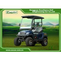 Buy cheap Engineering Plastic Body Electric Golf Carts , Max.speed 25km/h from wholesalers