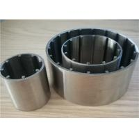 Buy cheap Reusable Filtering 25 Micron Johnson Vee Wire Screen For Water Well from wholesalers