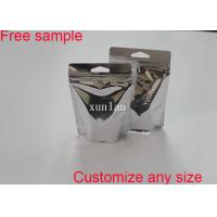 Buy cheap Anti Static Material Aluminum Foil Bags Resealable Heat Seal With See Through Window product