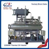 Buy cheap factory direct sales widely use new industrial electrical vertical heat transfer oil boile from wholesalers