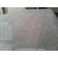 Buy cheap American Walnut Fancy Plywood 1220 x 2440mm from wholesalers