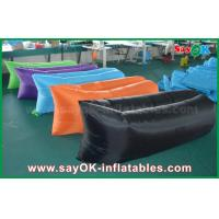 Buy cheap Outdoor Beach Fast Filling Inflatable Air Bed Sofa Hangout Sleeping Bag CE from wholesalers