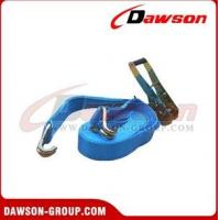Buy cheap 4000kg x 10m Ratchet Strap EN12195-2   for lifting from wholesalers