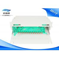 Buy cheap LC FTTH Optical Termination Panel , 12 24 48 96 Port ODF Fiber Optic Termination Box from wholesalers