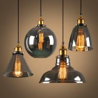 Buy cheap Vintage Glass Pendant Light Fixtures For Kitchen Dining room Decoration (WH-GP-18) from wholesalers