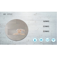 Buy cheap Motion Sensor Home 32 Inch Round Touch Screen Smart Mirror from wholesalers