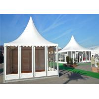 Buy cheap Small Glass Wall Pagoda Party Tent Hop - Dip Galvanized Steel Connectors from wholesalers