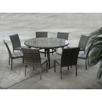 Outdoor Rattan Furniture Sofa For Hotel Patio / Garden / Balcony