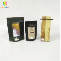 Buy cheap Coffee Beans Powder Packaging Printed Stand Up Pouches Plastic For Packaging Dry Beans from wholesalers