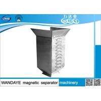 Buy cheap 10 Layer Rare Earth Permanent Drawer Magnets Type Dry Magnetic Separator from wholesalers