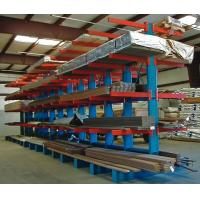 Buy cheap 6500 mm Height Heavy Duty Storage Racks  / Cantilever Steel Racking For Timber from wholesalers