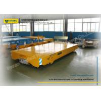 Buy cheap 1T - 300T Railroad Wheelsets Die Transfer Cart Powered By Dragging Cable from wholesalers