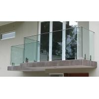Buy cheap High Quality Frameless Tempered Glass Railing / Balustrade with Spigot from wholesalers