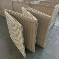 Buy cheap Welded Type Square Hole Gabion Defensive Barrier from wholesalers