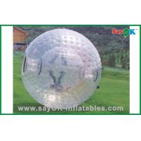 Buy cheap PVC / TPU Adults Human Hamster Ball Costco Transparent For Rental from wholesalers