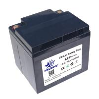 Buy cheap LiFePo4 rechargeable battery pack 12.8V 40Ah replacement of lead acid battery from wholesalers