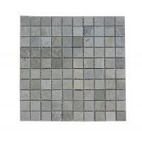 Buy cheap Cheap Price Polished Grey Wooden-vein Mosaic Tiles For interior Wall Export By Factory from wholesalers