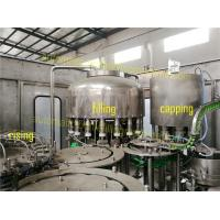Buy cheap PLC Control Juice Bottle Filling Machine With Washed Water Recycling System product
