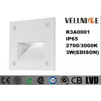 Buy cheap Aluminum Alloy Electrostatic Dusting Finishing IP65 Exterior Wall Mounted Lights 3W from wholesalers
