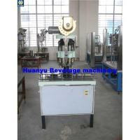 Buy cheap Glass bottle press capper(capping machine) from wholesalers