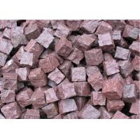 Buy cheap Granite Outdoor Natural Paving Stones For Garden / Patio Red Porphyry from wholesalers