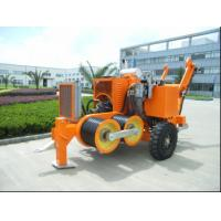 Buy cheap Cummins Engine Cable Stringing Equipment 90KN Hydraulic Cable Puller Winch from wholesalers