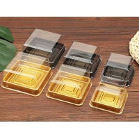 Buy cheap H3.8cm Clear Ice Cake Square PET Mooncake Blister Box from wholesalers