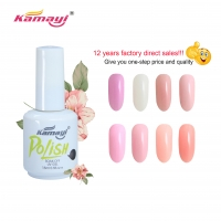 Buy cheap Kamayi Soft Gel Nail Tips Private Label Products Extension Colors Gel Polish Nail from wholesalers