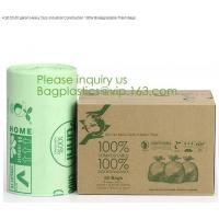 Buy cheap Bio material Bio plastic eco material eco plastic,Scented Compostable Bio Degradable Garbage Bags With Logo bagplastics from wholesalers