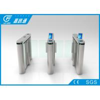 Buy cheap Auto Security Swing Speed Gate Turnstile TCP / IP Fast Pass Long Service Life from wholesalers