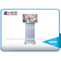 """42"""" Indoor Floor Standing Digital Advertising Kiosk Rotating LCD Player Android Monitor"""