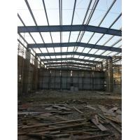 Buy cheap Steel Framed Prefabricated Industrial Buildings Anti Corrosion Painting Fast Installation product