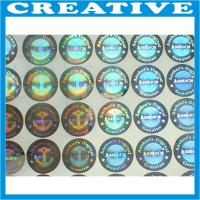 Buy cheap Factory wholesale price 3D vision effect hologram laser label stickers product