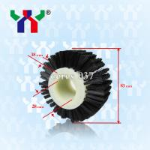 hard bristle Brush wheel For Pressing Paper ceres 037