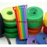 Buy cheap Die Cut Punching Hook & Loop Fastening Cable Ties Binding Strap from wholesalers