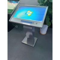 Buy cheap Free Stand Indoor Touch Screen Self Service Kiosk 43 Inch With QR Scanner product