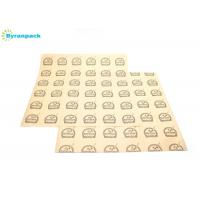 Buy cheap Greaseproof Paper Food Wrap, Basket Liner, Sandwich Wrap, Bakery Wrap 12 x 12 Logo Printing, 500 from wholesalers