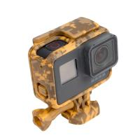 Buy cheap Standard Protective Camouflage Yellow Action Camera Housing Frame Case For GoPro Hero 5 from wholesalers