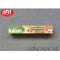 Buy cheap White / Brown Non Stick Silicone Baking Sheet  , Food Grade Parchment Paper from wholesalers